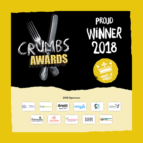 Crumbs Award Winner 2018